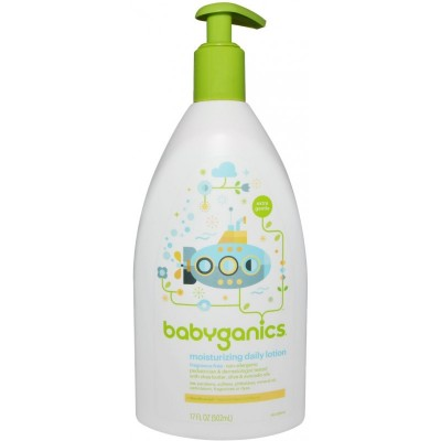 Baby Ganics Extra Gentle Daily Lotion - Fragrance Free 502ml