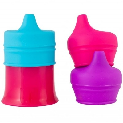 Boon Spout Snug With Cup - Pink