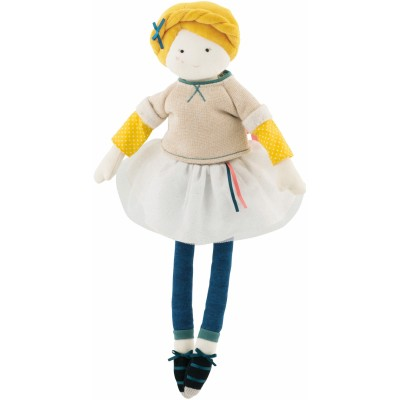 Moulin Roty Les Parisiennes Mademoiselle Eglantine Doll 39cm