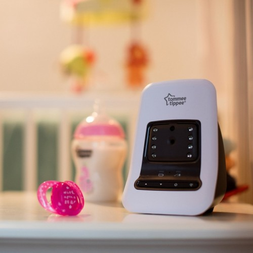 tommee tippee closer to nature video baby monitor w sensor pad. Black Bedroom Furniture Sets. Home Design Ideas