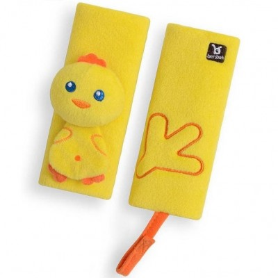 BenBat Travel Friends Seat Belt Pals - 0-12m - Chick