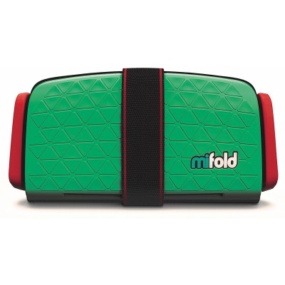 mifold Grab-and-Go Car Booster Seat - Lime Green