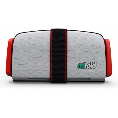 mifold Grab-and-Go Car Booster Seat - Pearl Grey