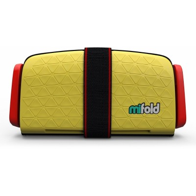 mifold Grab-and-Go Car Booster Seat - Taxi Yellow